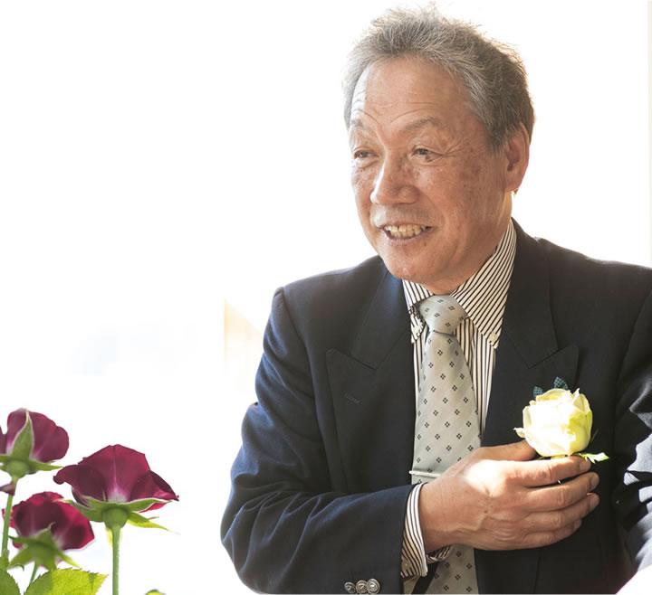 静岡バラプロジェクト代表 高田 勝己
